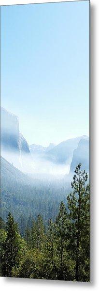 2 Of 4 Controlled Burn Of Yosemite Section Metal Print