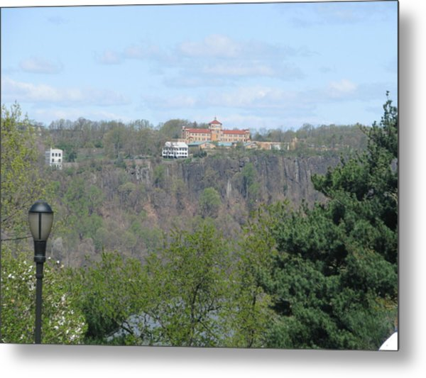 Convent On The Cliffs Metal Print by Hasani Blue