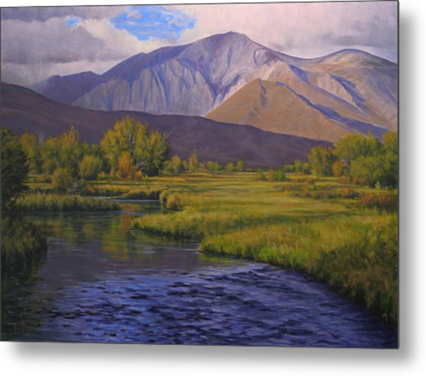 Convict Creek-eastern Sierras Metal Print by Joe Mancuso