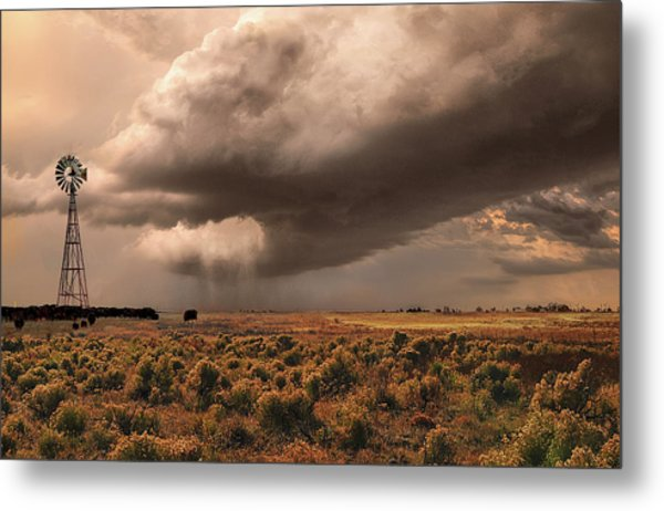 Conway Storm Front Metal Print