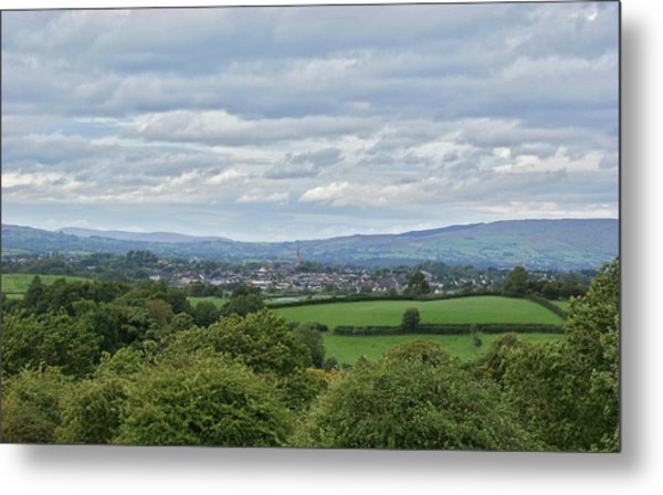 Cookstown Viewed From Tullyhogue Fort Metal Print