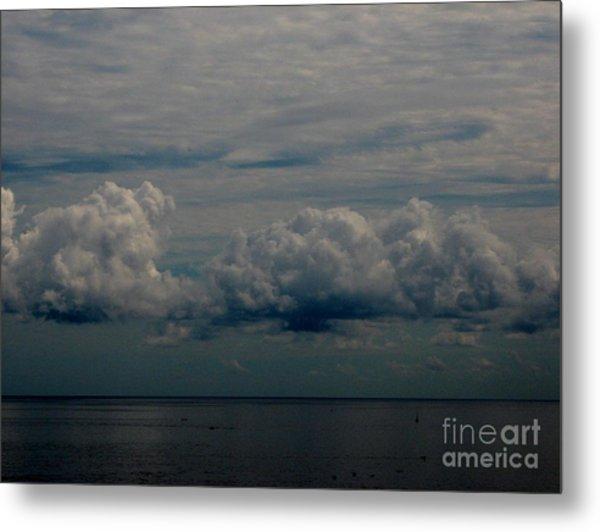 Cool Clouds Metal Print