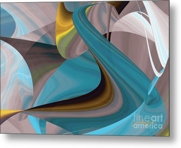 Cool Curvelicious Metal Print