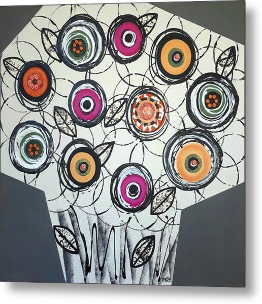 Cool Flowers Metal Print