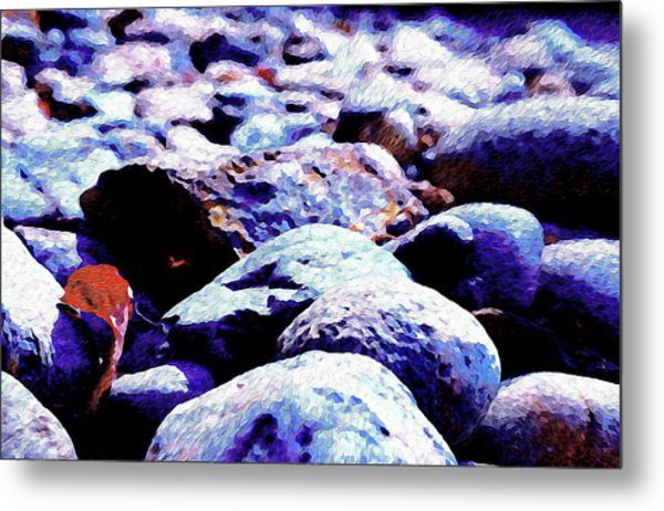 Cool Rocks- Metal Print
