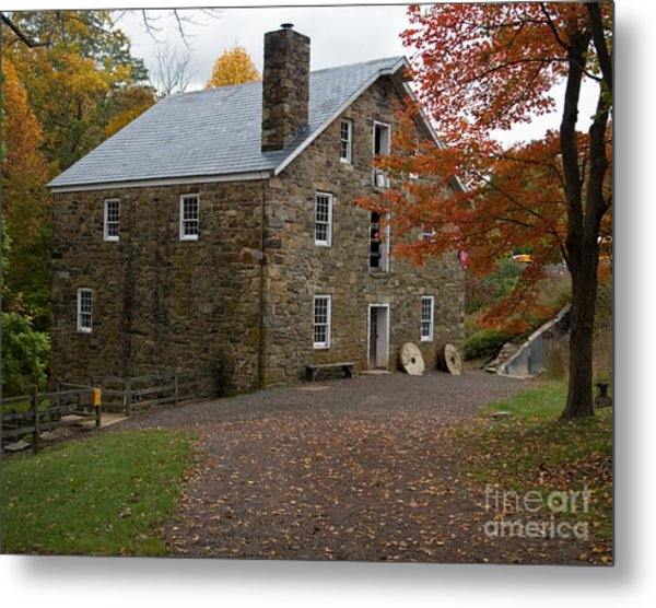 Cooper Mill Fall Metal Print