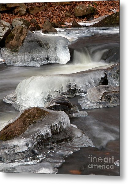 Cooper Mill Ice Metal Print