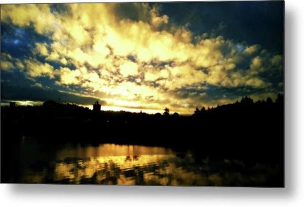 Metal Print featuring the photograph Coos Bay Dawn by Pacific Northwest Imagery