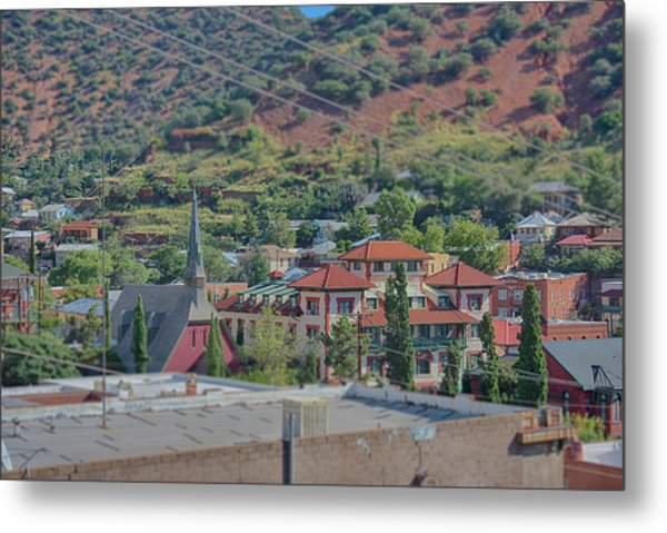 Metal Print featuring the photograph Copper Queen Hotel by Dan McManus