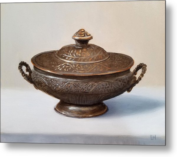 Copper Vessel Metal Print
