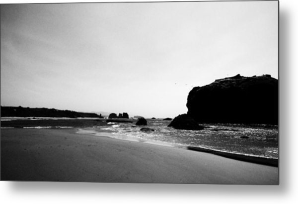 Coquille Point Metal Print