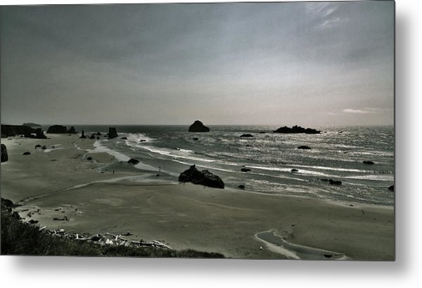 Coquille Point Iv Metal Print