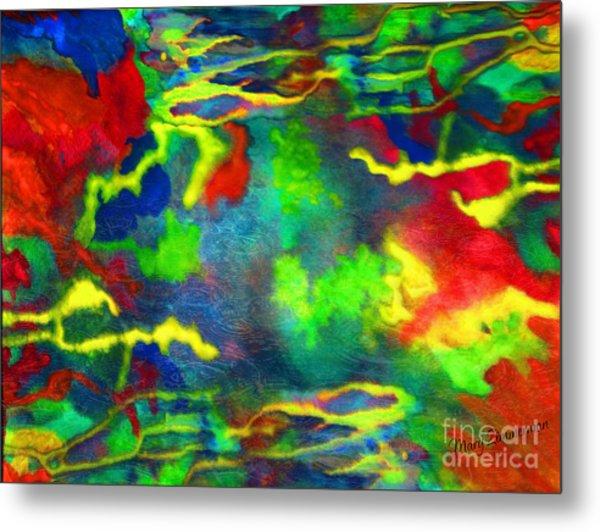 Coral Tides Metal Print