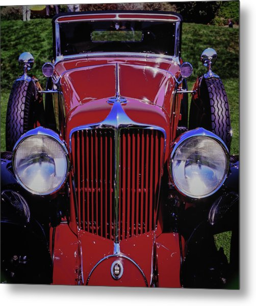Cord Coupe Metal Print