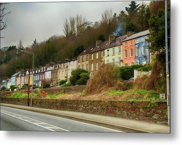 Cork Row Houses Metal Print