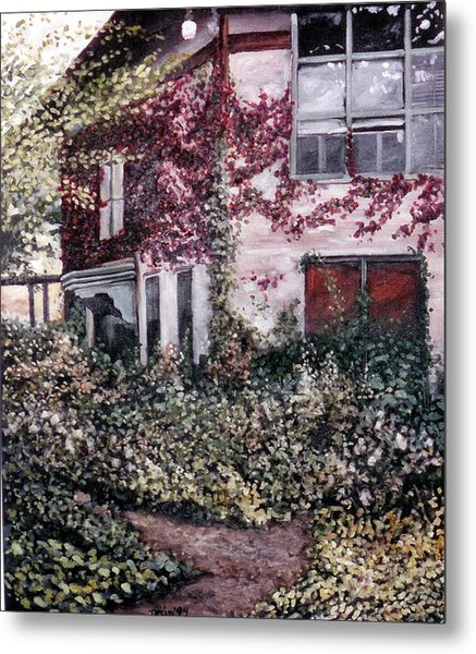 Cornell Plantations 2 Metal Print by Sue Tesin