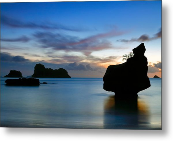 Metal Print featuring the photograph Coromandel Dawn by Nicholas Blackwell