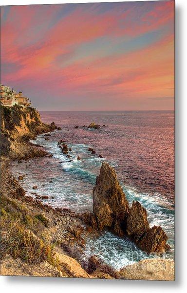 Corona Del Mar Coastline Metal Print