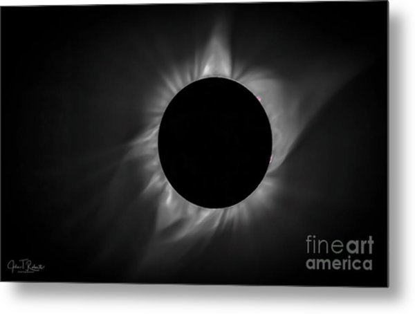 Corona During Total Solar Eclipse Metal Print