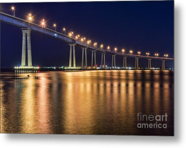 Coronado Bridge Metal Print by Eddie Yerkish