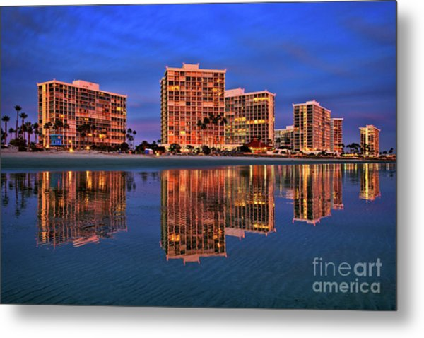 Coronado Glass Metal Print