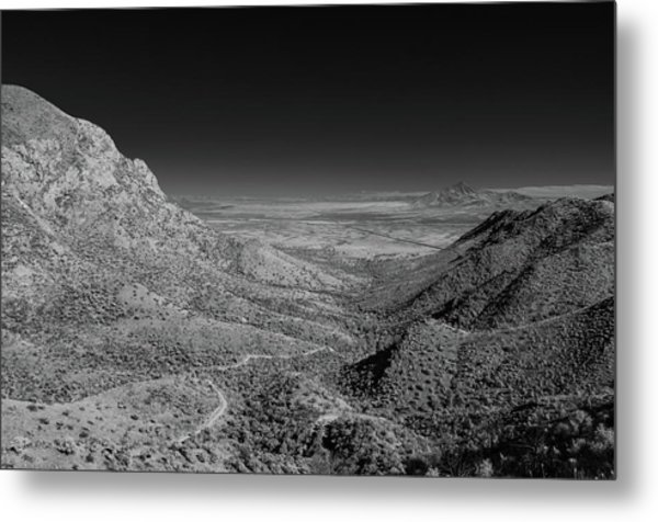 Coronado National Memorial In Infrared Metal Print