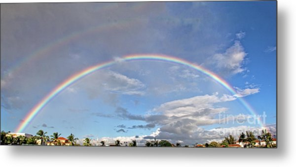 Coronado Rainbows Metal Print