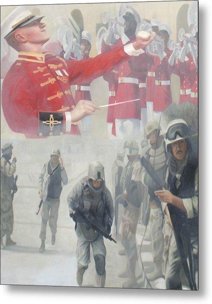Corpsman Up Metal Print