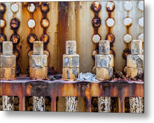 Corrosion Metal Print