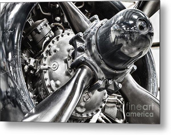 Corsair F4u Engine Metal Print
