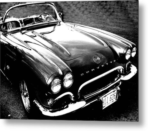 Corvette Metal Print by Audrey Venute