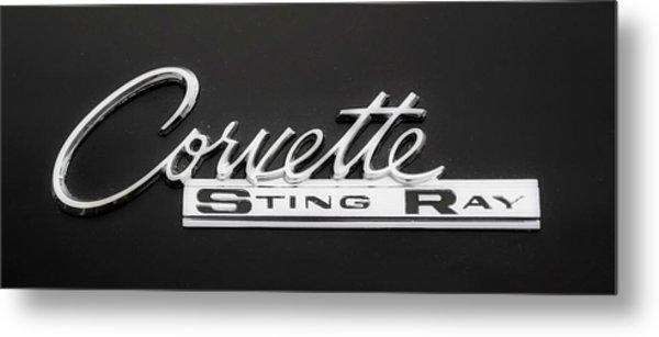 Corvette Sting Ray  Metal Print