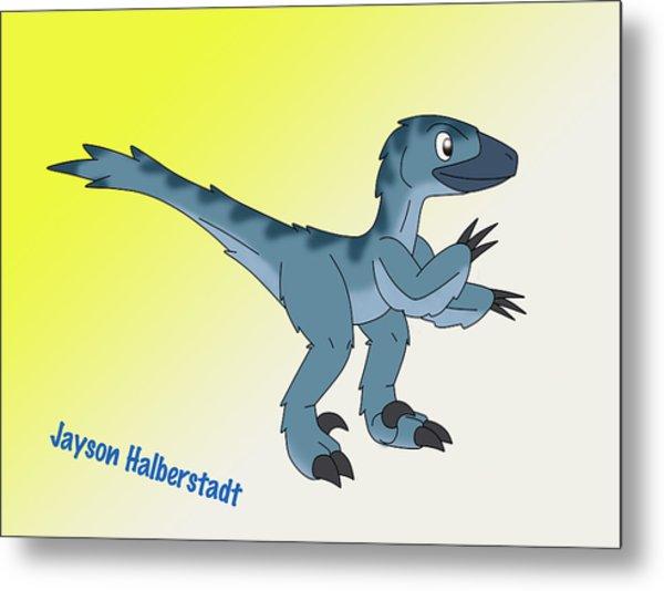 Cory The Raptor Metal Print
