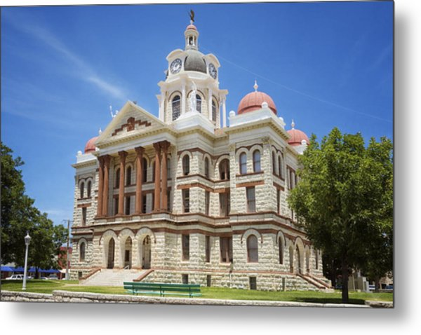 Coryell County Courthouse Metal Print
