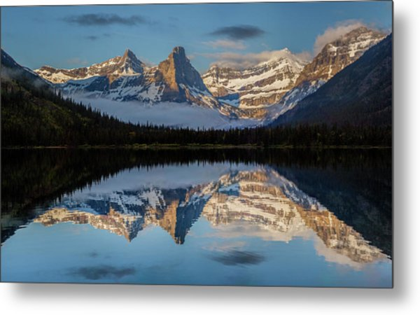 Cosley Lake // Glacier National Park  Metal Print