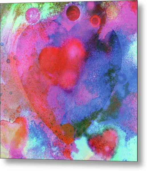 Cosmic Love Metal Print