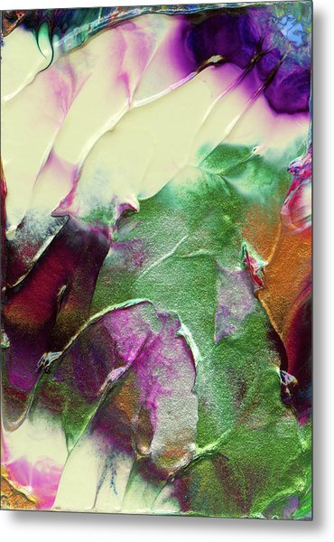 Cosmic Pearl Dust Metal Print