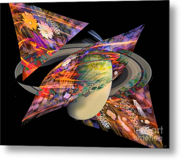 Cosmic Sensation Metal Print by Eleni Mac Synodinos