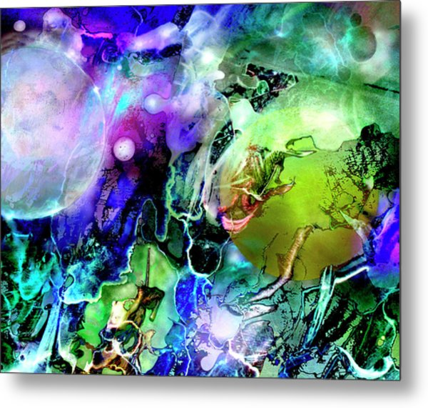 Cosmic Web Metal Print