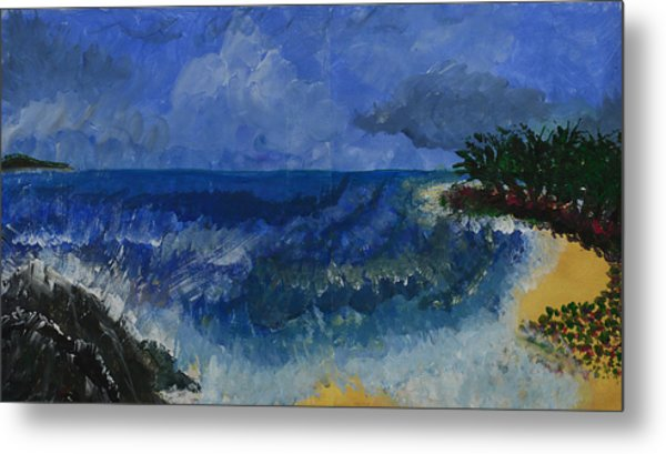 Costa Rica Beach Metal Print
