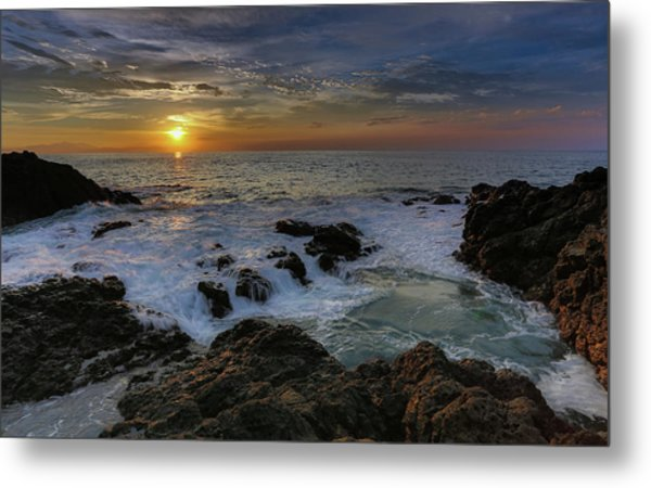 Costa Rica Sunrie Metal Print