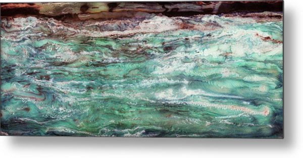 Costal Tide II Metal Print by Paul Tokarski