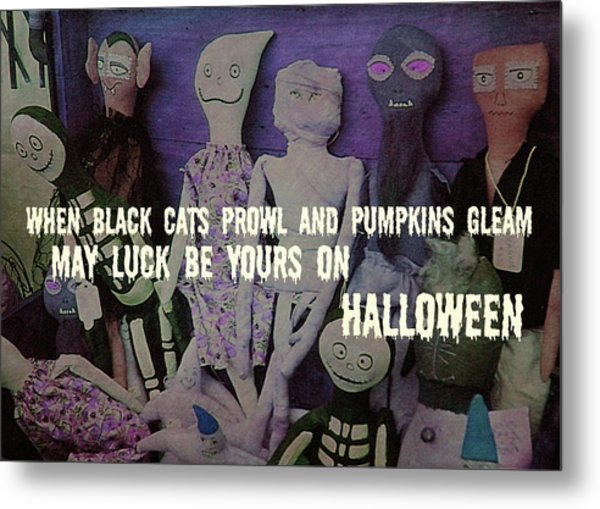 Costume Party Quote Metal Print by JAMART Photography
