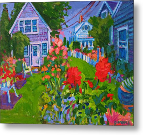 Cottage Country Metal Print by Brian Simons
