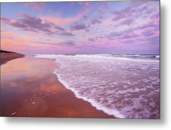 Cotton Candy Sunset. Metal Print