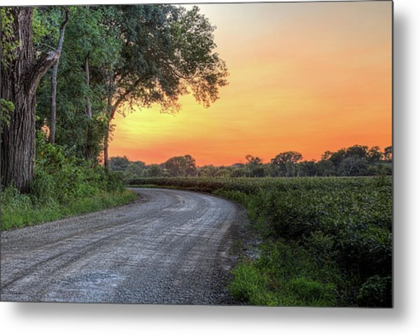 Cottonwood Sunset Metal Print by JC Findley