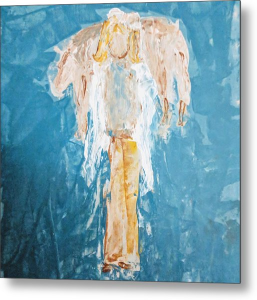 Country Angel Metal Print