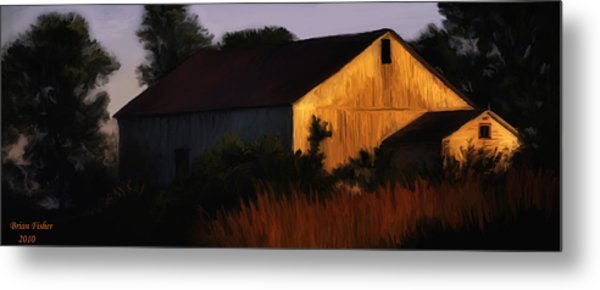 Country Barn Metal Print by Brian Fisher
