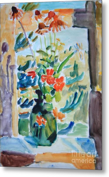 Country Bouquet Metal Print by Andrey Semionov