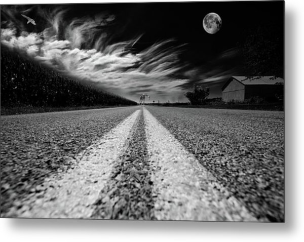 Country Road 51 Metal Print